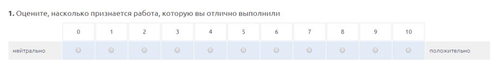 образец анкеты для эйчаров